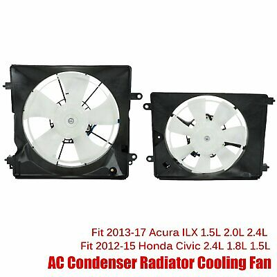 Driver Side Left Radiator Cooling Fan for Honda Fit City 09-13 1.5L HO3115150