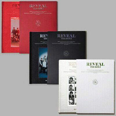 THE BOYZ REVEAL 1st Album 3 Ver SET 3CD+POSTER+3 Photo Book+12 Card+GIFT SEALED