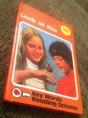 Ladybird Book Keywords,peter and jane 1b Look At This