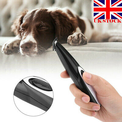 Rechargeable Cordless Cat Dog Pet Electric Hair Trimmer Shaver Foot Hair Clipper