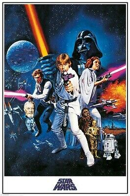 Star Wars Poster Pack A New Hope 61 x 91 cm Pyramid International 5