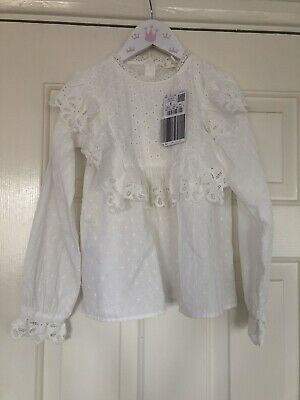 Mango Girls Blouse Age 8 BNWT