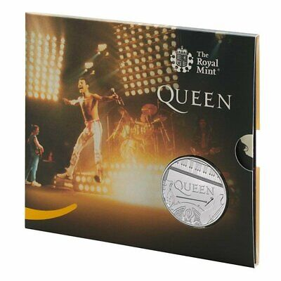 Queen £5 Royal Mint Coin Official BU Five Pound LIVE - PRESENTATION PACK