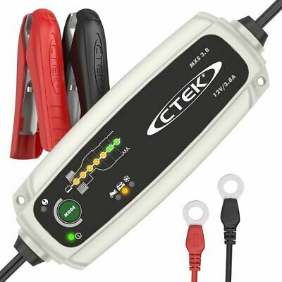 New CTEK MXS 3.8 12V 3.8 Amp Automatic Battery Charger - Charges & Maintains Car
