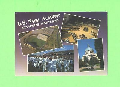 Oo Postcard U S Naval Academy Annapolis Maryland Postcard Showing Stadium