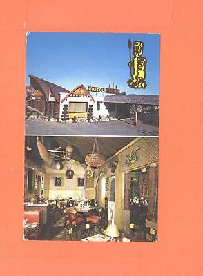 Oo Postcard Coconut Motel Trois Rivieres Ouest P Quebec Polynesian Atmosphere
