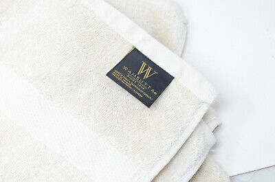 Pack of 4 in Ivory New Wamsutta Gold 805 Turkish Cotton Bath Towels