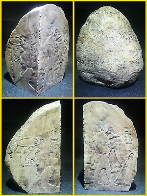 EGYPTIAN ANTIQUE ANTIQUITY Corner Stone Stela Stele Stelae 1549-1354 BC