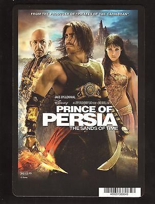 Jake Gyllenhaal--Prince of Persia: The Sands of Time--2010 DVD Backer Card Only