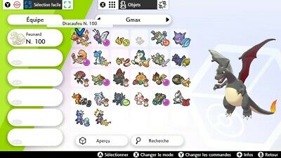 Ultra Shiny Gigamax 6IV Pokemon- Battle Ready - Pokemon Épée Bouclier