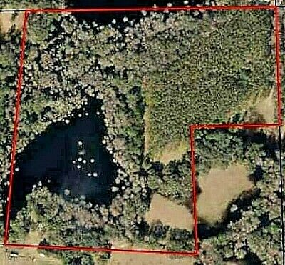 39.89 Acres Waterfront Land Near Gainesville FL & Gulf Foreclosure Opportunity!