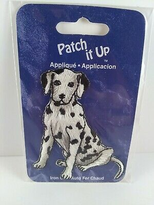 Disney Dog Movie Character 131-D Spot 101 Dalmatians Embroidered Iron On Patch