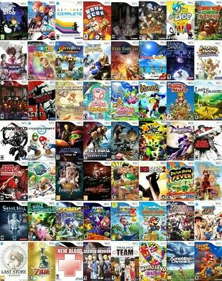 Wii GAMES, Choice of Titles, starting at $4.00