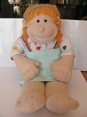 The Original Real Rigadoon Puppet Doll 1990's Patti