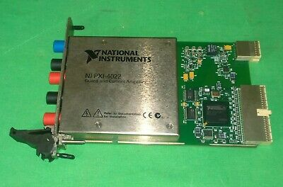 National Instruments NI PXI-4022 194478A-01 Guard and Current Amplifier (#3300)