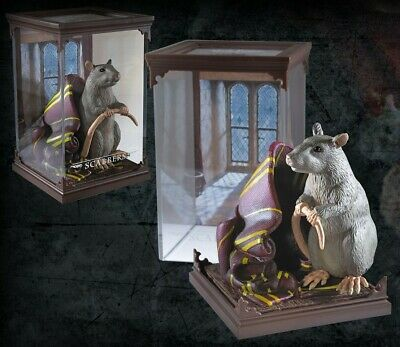 Harry Potter - Créatures magiques - Figurine Scabbers (Croûtard) - Noble Collect
