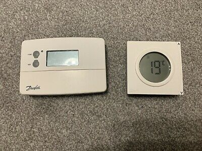 Danfoss TS715-Si Electronic Timeswitch Single Channel Time Clock With Thermostat