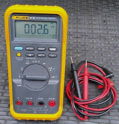 Fluke 87 III True-RMS Industrial Multimeter