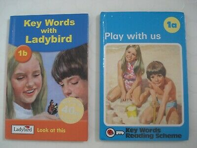 Vintage Ladybird Books X 2 - Play With Us 1A / Key Words With Ladybird1 1B
