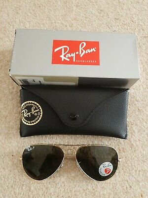 BN Ray-Ban Aviator polarized RB3025 rrp £172 from John lewis