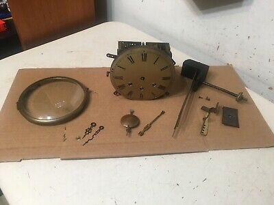 Rare Gustav Becker P18 Westminster Chime Mantle Clock Movement Parts