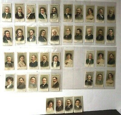 Musical Celebrities 1st Series Cigarette Cards 31 Of 50 Antique 1911 Wills UK