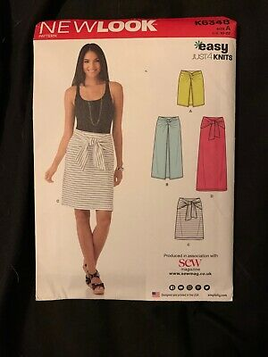 K6348 New Look Sewing Pattern No Size U.S 10-22 **NEW**