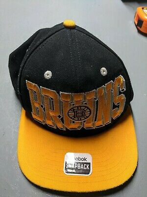 cheapest price outlet classic styles NEW - NHL - Boston Bruins - Snapback Hat - Reebok - $15.19 | PicClick