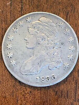 1836 U.S. Half Dollar Capped Bust 50¢ Lettered Edge