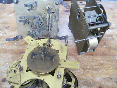 3 x Mech Movements/1x German Chiming 1x Visible escapement 1x English Striking
