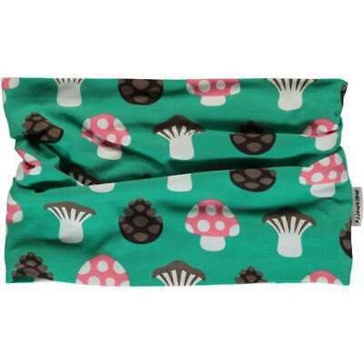 *NEW* MAXOMORRA Mushroom - organic cotton - tube  scarf  6-24 months