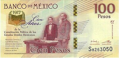 Mexico, 2016 / 2017 100 Pesos P-130 ((Unc))  **Commemorative**