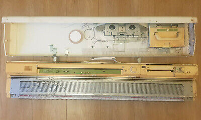 Brother KH-881 Retro Knitting Machine With Accessories