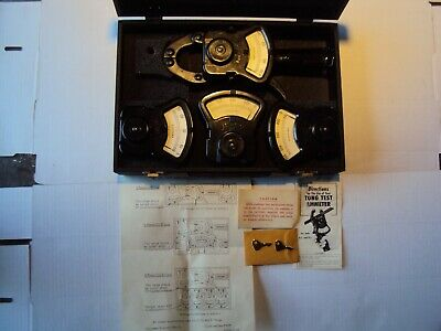 Columbia Electronic  TONG TEST Ammeter Kitwith Case