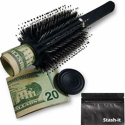 Hidden Hair Brush Can Safe Hide Money Jewelry Valuables Discreet Secret