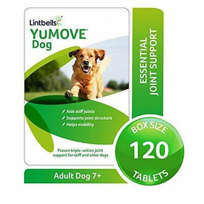 Lintbells YuMOVE Dog Joint Supplement for Stiff Dogs - 120 Tablets Best help