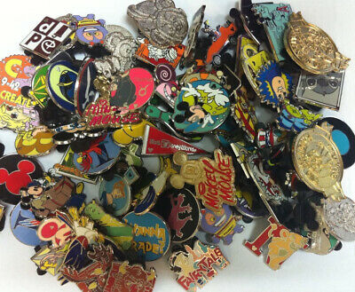 Disney Trading Pins-Lot of 25-No Duplicates-Free Shipping