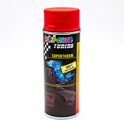 DUPLI-COLOR Motorschutzlack - spray rot 400 ml Supertherm 300°C matt 339127