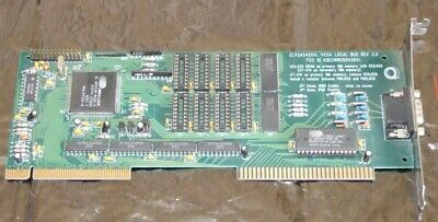 Cirrus Logic CLVGA542XVL VGA video card for VLB Vesa Local Bus (486) systems