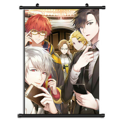 Mystic Messenger Anime HD Canvas Print Wall Poster Scroll Home Decor Cosplay