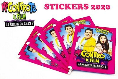 Diramix Me Contro Te Il Film 10 Bustine Di Stickers Figurine Collection 2020