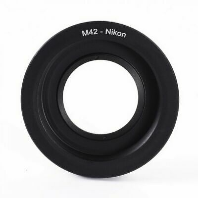 Adapter M42 to Nikon AI F mount camera adapter with glass  for mounting Helios