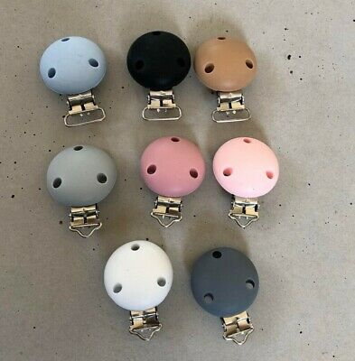 Silicone Dummy Clips Multiple Colors Available