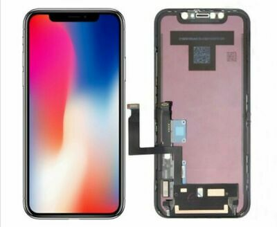 Touch Screen Lcd Display Per Apple Iphone X 10 Vetro Frame Oled Schermo Ricambio