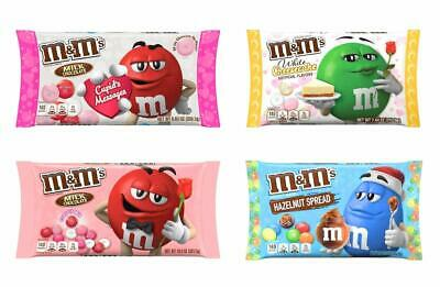 MMs Valentines Day Chocolate Candy Bulk Variety Pack Of 4 Flavors - White Chees