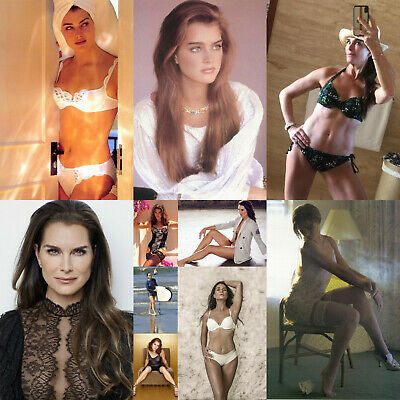 Brooke Shields - Pack of 5 Glossy Photo Prints - 10 pictures to choose from