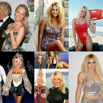 Pamela Anderson - Pack of 5 Glossy Photo Prints - 15 pictures to choose from