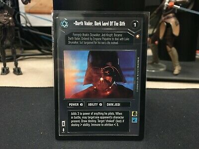 Star Wars CCG Darth Vader, Dark Lord Of The Sith Special Edition set