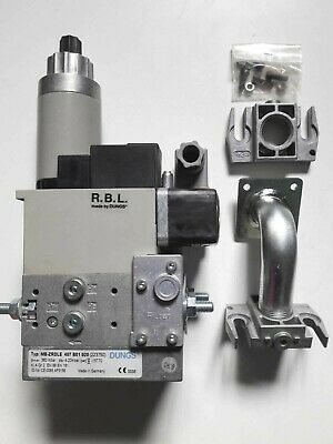 DUNGS MB-ZRDLE 407 B01 S20  GAS MULTIBLOC 223750  360mbar DOUBLE SOLENOID VALVE