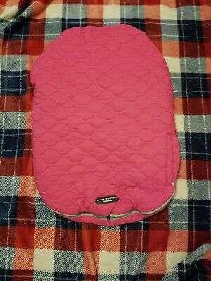 Baby Girl J.J. Cole Collections Bundleme Carseat Cover EUC